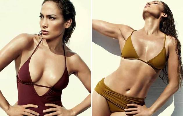 Jennifer Lopez Flaunts HOT Bikini Bod In Vogue