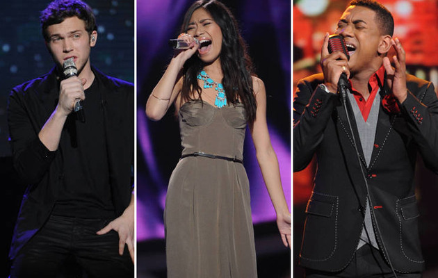 """American Idol"" Top 3: Jessica Sanchez Sings Aerosmith on Stellar Night"