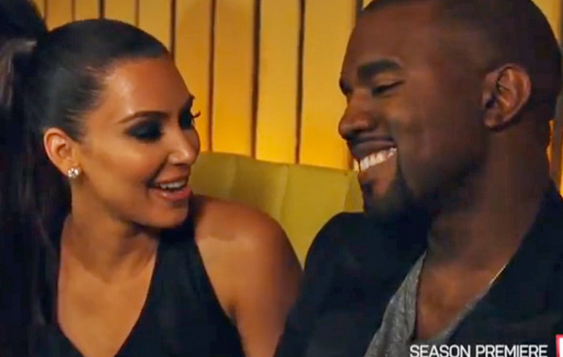 "Kanye West In New ""Keeping Up with the Kardashians"" Promo!"