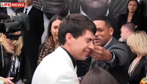 Will Smith ATTACKS Affectionate Reporter