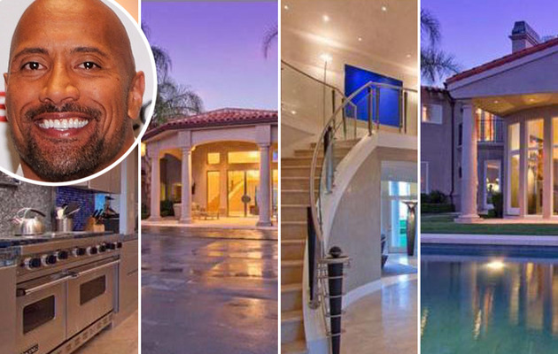 The Rock Lists Stunning Hidden Hills Home!