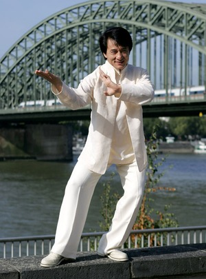 Jackie Chan In Action!