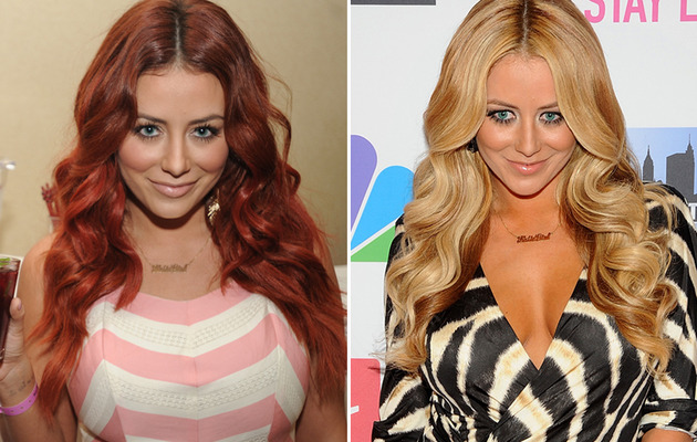 Aubrey O'Day Goes Back to Blonde ... Finally!