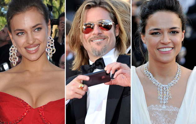 Cannes Sightings: Brad Pitt, Boobs & A Beautiful Michelle Rodriguez