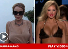 Lindsay Lohan vs. Kate Upton -- You Can't Look Away from Bouncy Showdown