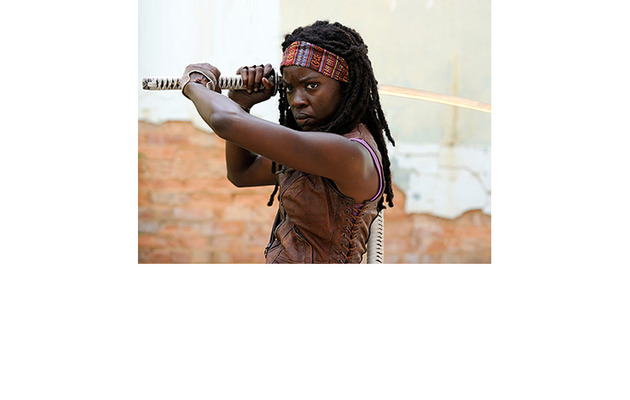 "First Look: Michonne from ""The Walking Dead"""