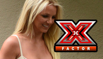Britney Spears Walks Off 'X Factor'