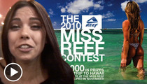 Miss Reef Calendar Contestant -- Forget My Face, You Should See My Ass