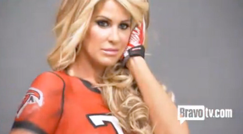 See Kim Zolciak's Topless Pre-Wedding Present for Kroy Biermann