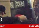 Justin Bieber -- Training with MIKE TYSON Before Pap Scuffle