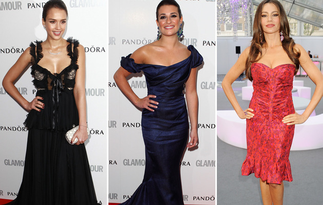 A Night of Glamour: Jessica Alba, Lea Michele & Sofia Vergara Dazzle!