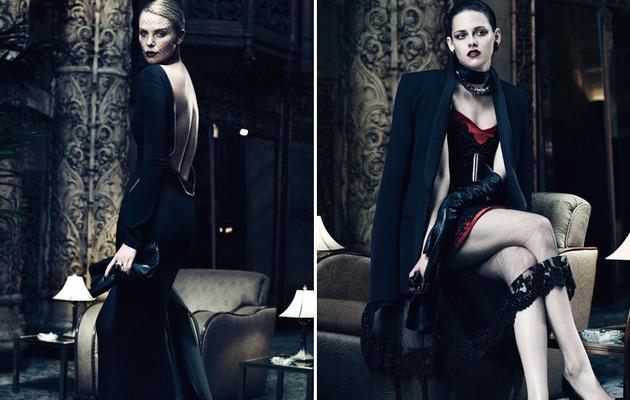 Charlize Theron & Kristen Stewart Get Dark & Sexy!
