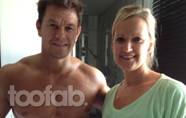 Mark Wahlberg's Personal Spray Tanner Shares Hot Pics From Set!