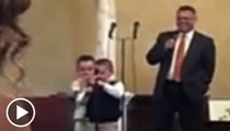 Toddler Sings in Church -- 'Ain't No Homos Gonna Make It to Heaven'