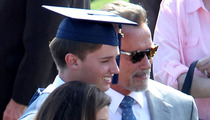 Arnold Schwarzenegger & Maria Shriver -- Another Day, Another Graduation
