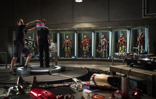 """Iron Man 3"" -- First Official Photo from the Set!"