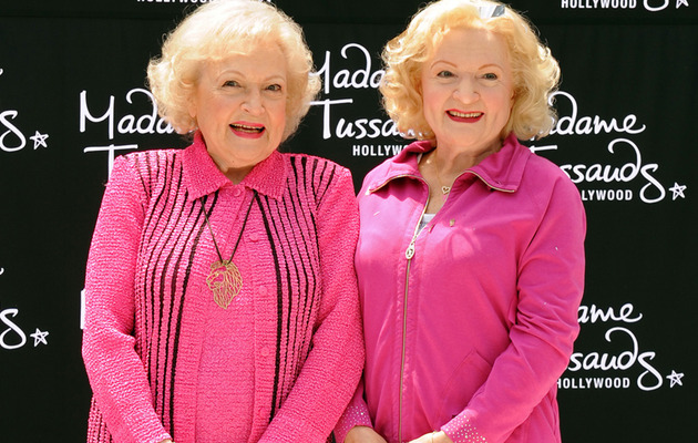 Betty White Honored with Crazy Realistic Wax Figure!