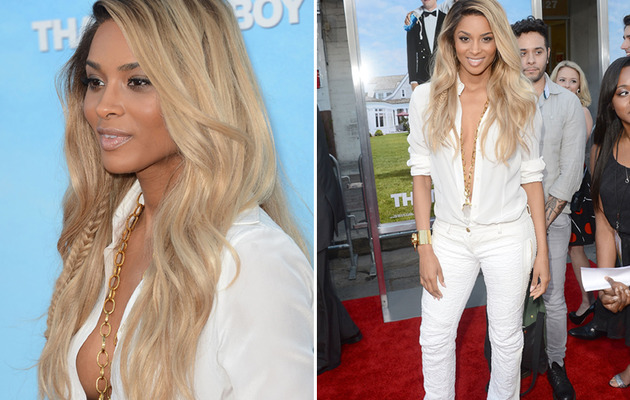Ciara Is White Hot On The Red Carpet!