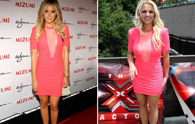 Dueling Dresses: Ashley Tisdale vs. Britney Spears