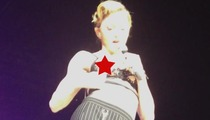 Madonna -- 53-Year Old Nip Slip in Istanbul ... Does Anyone Care?