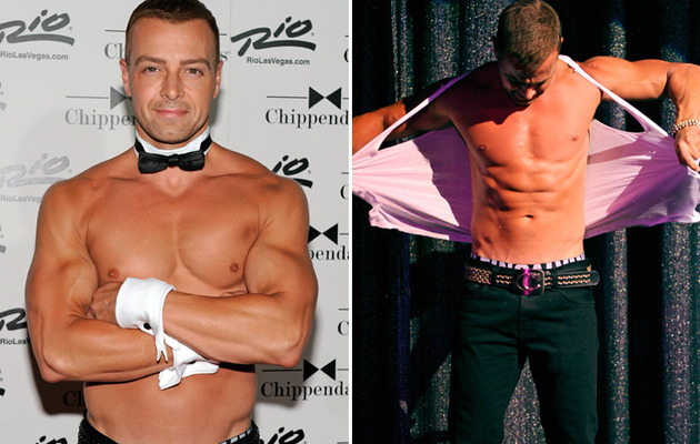 Joey Lawrence Strips for Chippendales!