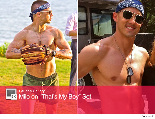 Milo ventimiglia 39 s buff bod who knew for That s my boy tattoo