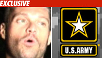 Army Apologizes for Seacrest Stalker