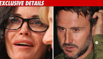 Courteney Cox and David Arquette -- Separated