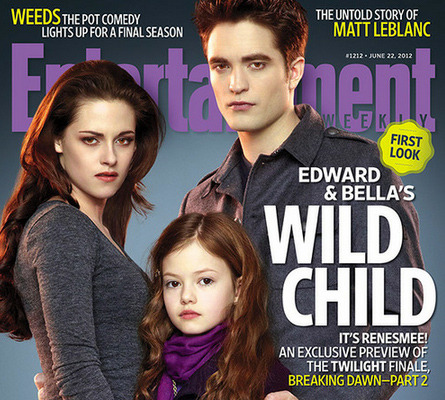 "Kristen Stewart & Robert Pattinson: See Their ""Breaking Dawn"" Spawn"