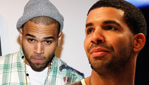 Chris Brown / Drake Fight -- Nightclub Surveillance Tape Pretty Much Useless