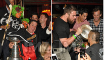 Stanley Cup -- Boozing with Little People ... and Chuck Liddell