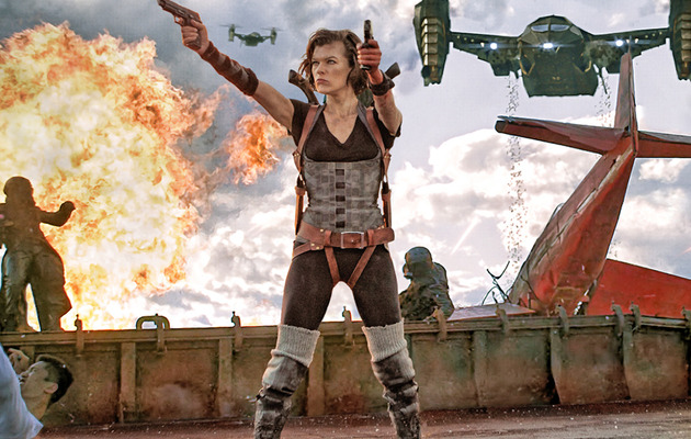 """Resident Evil: Retribution"" -- See the Crazy New Trailer!"