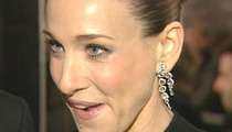 Sarah Jessica Parker -- Stars Arriving, Still Waiting for Obama