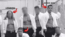 Channing Tatum's Ex-Stripper Pals -- You Stole Our Moves for 'Magic Mike'