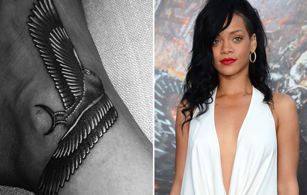 Photo: Rihanna Gets Another Tattoo!