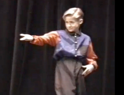 "See 10-Year-Old Ryan Gosling Dance to ""Gonna Make You Sweat"""
