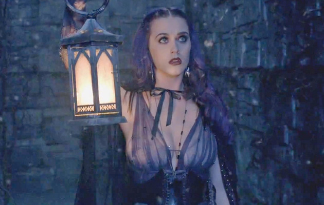 "Katy Perry's ""Wide Awake"" Music Video -- A Goth Fairy Tale!"