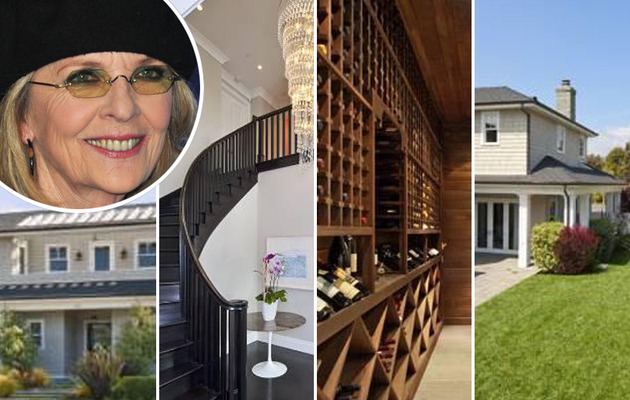 Diane Keaton Purchases Pacific Palisades Pad