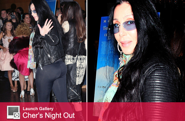 66-Year-Old Cher Shows Off Firm Behind In Tight Leggings!
