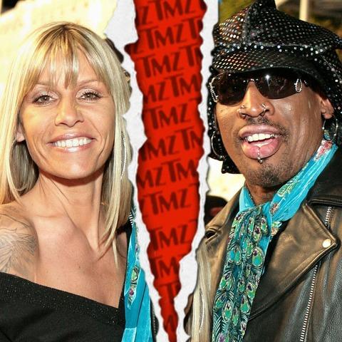 Dennis Rodman and Michelle Rodman finalized their divorce in April 2012