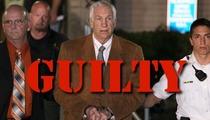 Jerry Sandusky -- GUILTY of Raping Children