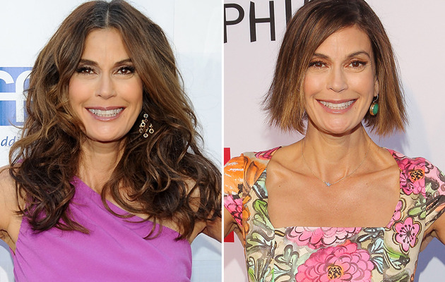 Teri Hatcher Debuts Shockingly Short New 'Do!