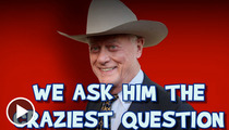 """Dallas"" Star Larry Hagman -- I'll Take Famous Livers for $500"