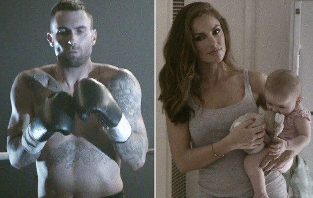 Shirtless Adam Levine Gets & Beaten In New Maroon 5 Video