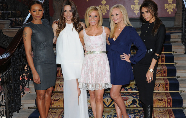Spice Girls Reunite In London!