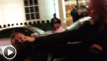Rihanna -- Bodyguard Throws Knockout Punch to Pap's Face