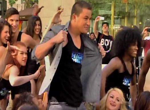 "Channing Tatum Shows Stripper Dance Moves on ""Today"""