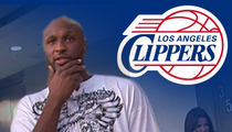 Lamar Odom -- I'm Going Back to Cali ... as a Clipper!