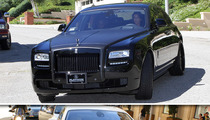 Kim Kardashian -- Back to Black ... Rolls-Royce