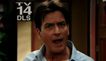Charlie Sheen -- Shots at 'Men' in 'Anger Management' Debut